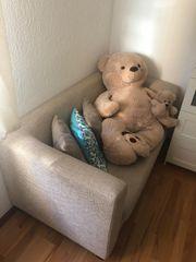Moderne Couch mit Strukturstoff NUR