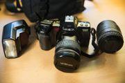 Funktionstüchtige analoge Kamera Minolta Dynax