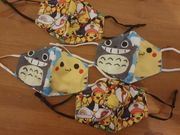 Pokemon Pikachu Gesichtsmaske Mundschutz