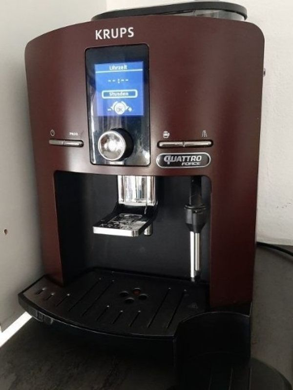 krups kaffeevollautomat quattro EA82 Espressomaschine