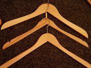 10 Stck Kleiderbügel Holz