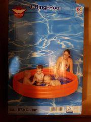 Schwimmbecken aufblasbar neu