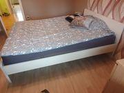 IKEA Bett weiß