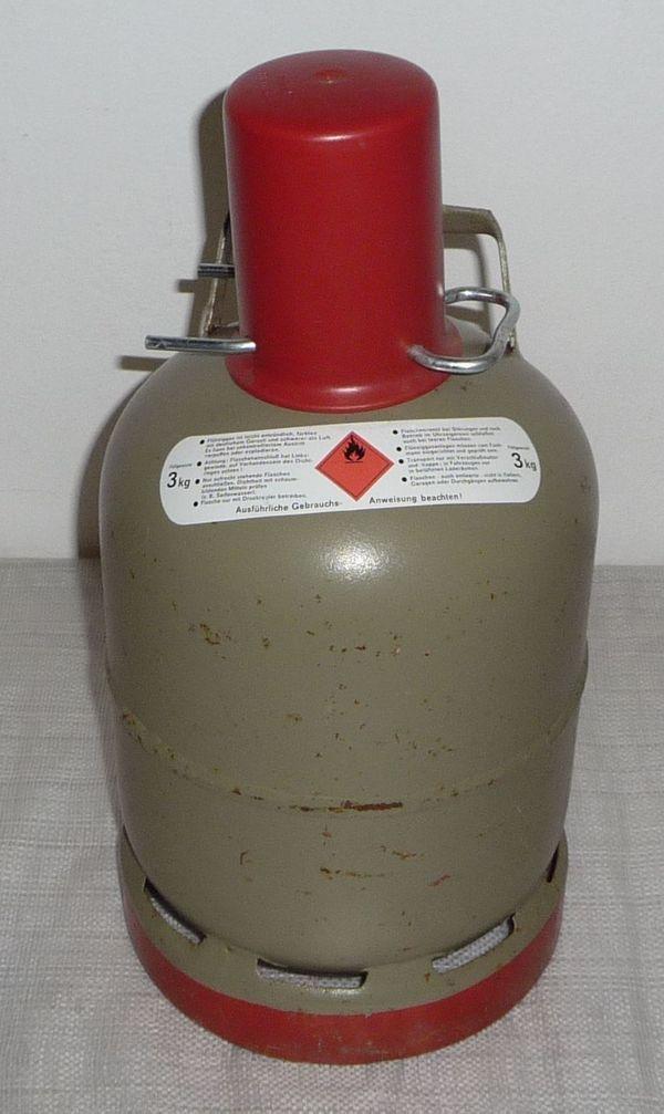 Propan Gasflasche 3 kg leer