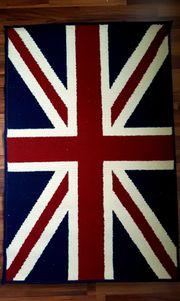 Designer Teppich Union Jack elegant