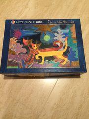 Puzzle 2000 Stück Wachtmeister