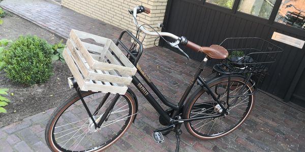 Fahrrad Damen Gazelle 7-Gang Ledersattel-