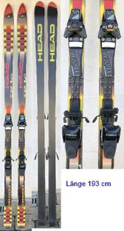 Ski und Skistöcke Völkl und