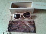 Holzsonnenbrille der Firma Wood Fellas