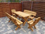 Gartenmöbel aus Massiv Holz 5cm