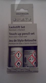 Original Volkswagen Lackstift Set Indigoblau