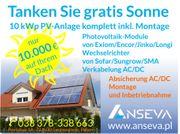 Photovoltaik 10 kWp SOLARANLAGE KOMPLETT