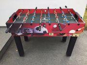 Multifunktionstisch mit Tischfußball Billard etc