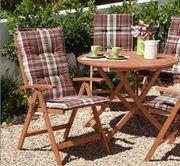 Gartenmöbelset Tisch 3 Stühle aus