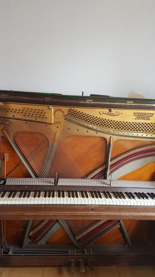 Schiedmayer Klavier BJj 1922