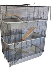 käfig 3-stöckig Nagerkäfig Mäusekäfig Kleintierkäfig