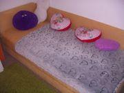 Zu verschenken Schlafcouch mit Bettkasten