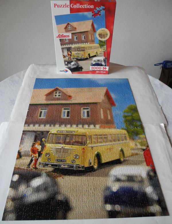 Puzzle Collection Schuco Reisebus 1000