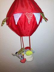 Deckenhänger Ballon mit Tierchen