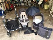 Teutonia Kinderwagen mit Zubehör zu