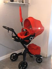 Stokke Xplory V5 Black Red
