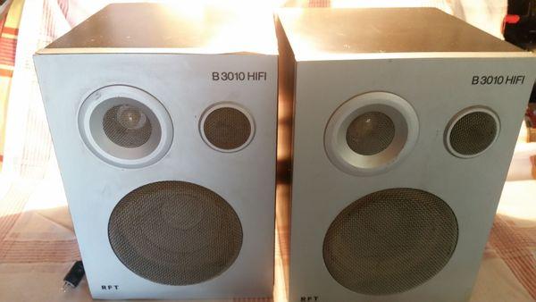 DDR Bassreflexboxen B 3010 HIFI