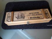 6x Senator Brandy Gläser in