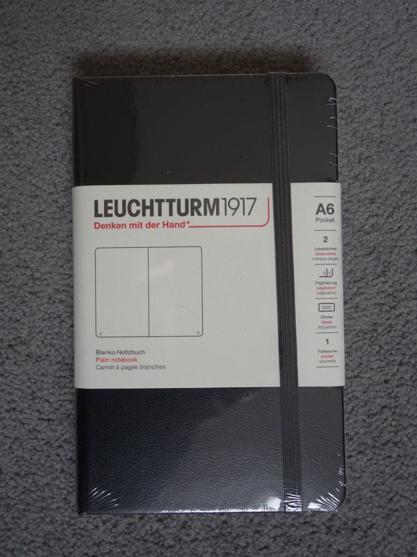 LEUCHTTURM 1917 Blanco Notizbuch A6