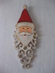 Bemalter Weihnachtsmann für an die