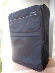 Koffer EMINENT schwarz Polyester 67x47x27