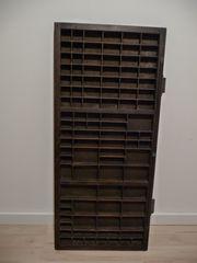 Alter Setzkasten - original aus Buchdruckerei