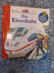 Buch Kinder verschiedene Eisenbahn Indianer