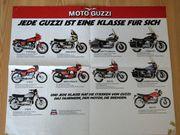 Moto Guzzi Modelle 1980 Poster