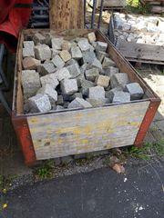 Granit Pflasterseine