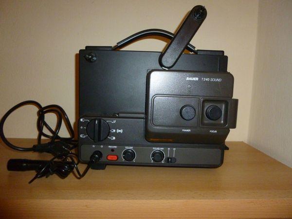 Filmprojektor Baur T240 Sound