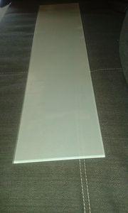 Glasplatte Milchglasplatte