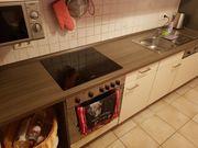 Nussbraun Creme Farbene Einbauküche