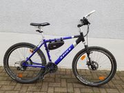 Mountainbike Spike Hardtail blau Top