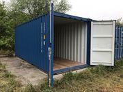 Container als Abstell- Lagerplatz
