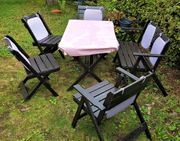 Garten Sitzgarnitur Sitz Möbel Gartenmöbel