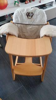 Herlag Hochstuhl mit Herlag Sitzauflage