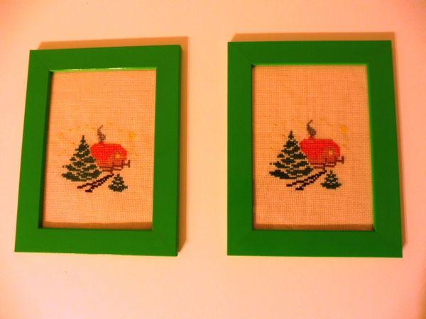 Weihnachtsdeko Verkaufen.Stickbild Stickbilder Handarbeit Weihnachtsdeko Deko Neue Ikea