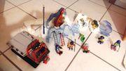 XXL-Set Playmobil 4076 Dinosaurier im EIS -