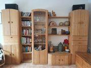 Massiver Echtholz Wohnzimmerschrank