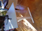 Schreibtisch weiß stabil neuwertig