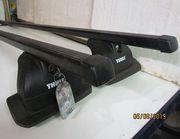 Dachträger THULE Vierkantprofil schwarz mit