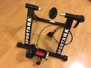 Sportana Fahrrad Rollentrainer Hometrainer 6