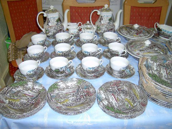 Original Englisches Tafel Kaffeeservice