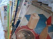 Zeitschriften Kultur im Heim DDR