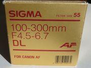 Objektiv SIGMA 100-300 mm F